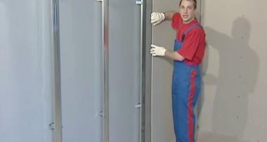 Как крепить гипсокартон к стене и правильно сделать каркас  своими руками