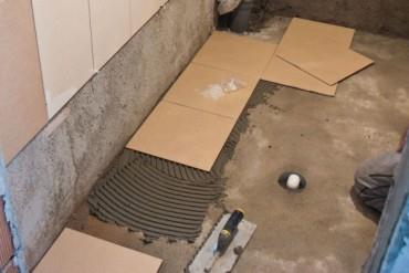 порядок укладки настенной и напольной плитки