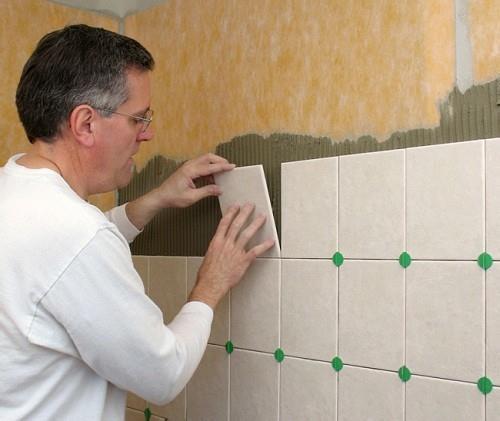 крестики для плитки в ванной
