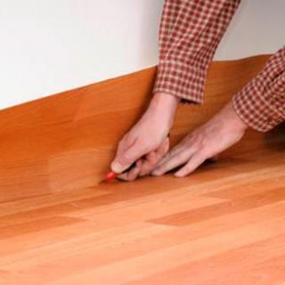 Как правильно стелить линолеум в квартире своими руками