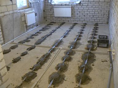 маяки для цементной стяжки для выравнивания пола