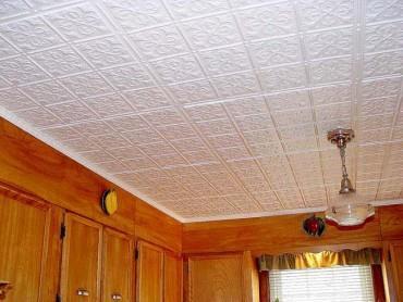 Потолочная плитка ламинированная