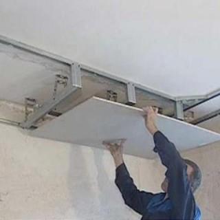 Как сделать потолок из гипсокартона, чтобы он не упал на голову