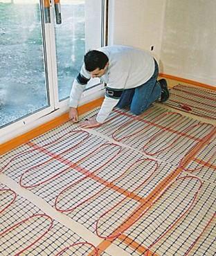 Системы отопления электрического теплого пола