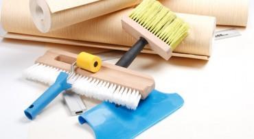 Инструменты для поклейки виниловых обоев