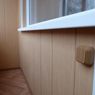 Как правильно сделать обшивку балкона пластиковыми панелями своими руками