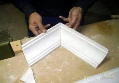 """Чтобы проверить правильность вырезанных заготовок, смоделируйте """"ваше творение"""" на полу. Если все углы сходятся правильно, то можно приступать к приклеиванию."""