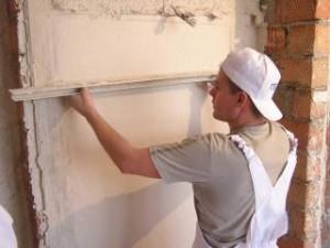 Как можно выровнять стены с помощью установки маяков для штукатурки своими руками