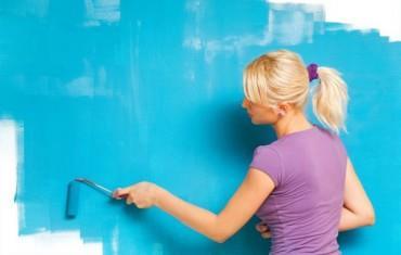 Использование латексных красок