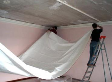 ширина полотна натяжных потолков