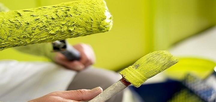 2 нанесение водоимульсионной краски