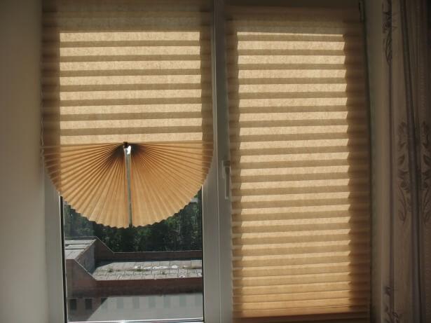 бумажные жалюзи на окна