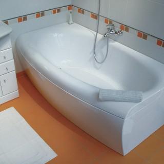 Какие стандартные размеры чугунной, стальной, акриловой и угловой ванны?
