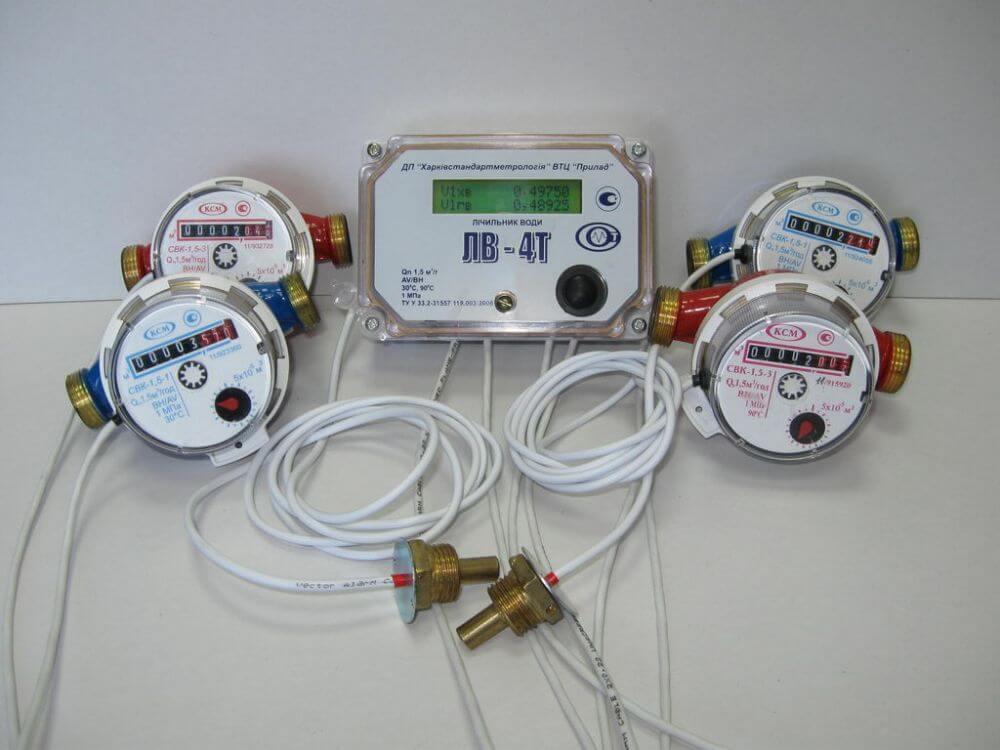 Электронные счетчики воды