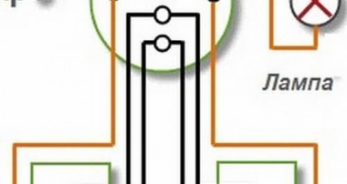 Как подключить проходной выключатель: схемы подключения