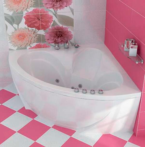 установка нестандартных ванн