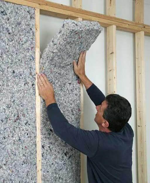 выполнение работ по звукоизоляции стен в квартире