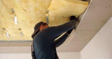 Как сделать за 1 день звукоизоляцию потолка в квартире под натяжной потолок своими руками